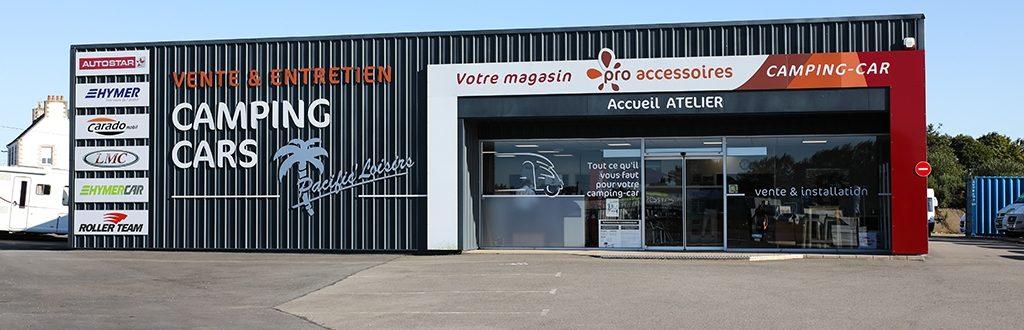 Pacificauto Pacificloisir Vente Location Entretien Accessoires Campingcar Morlaix Finistere