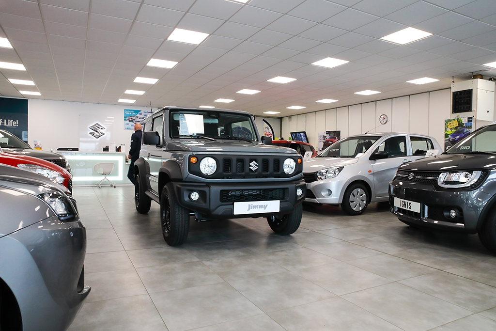 Véhicule neuf Suzuki Jimmy chez Pacific Auto
