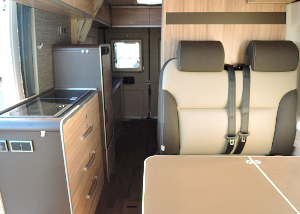 Location Camping Car Morlaix Grand Canyon Interieur